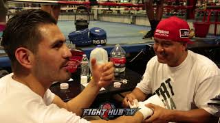 JOSE RAMIREZ FROM WORKING IN THE FIELDS TO WORLD CHAMPION, TALKS FIRST JOB