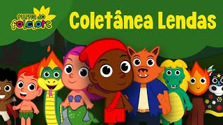 coletnea da turma do folclore lendas 38 minutos video infantil oficial