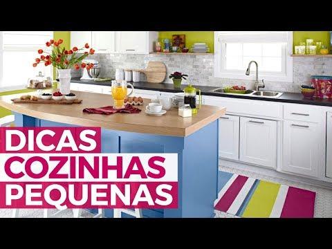 Como decorar cozinha pequena- SIMPLICHIQUE