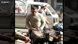 Bollywood actor Salman Khan Spotted in Bolton Market Karachi! Is it true?