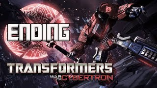 Transformers War for Cybertron Walkthrough - Part 37 [Chapter 10] One Shall Stand ENDING Let