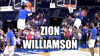 zion williamson dunk