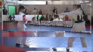 Выступление по айкидо (дети 8-9 лет)(