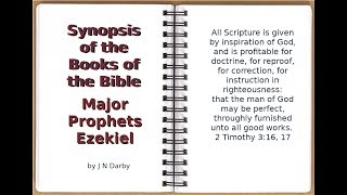 Synopsis of The Books of The Bible by JND OT Major Prophets Ezekiel Chapter 1