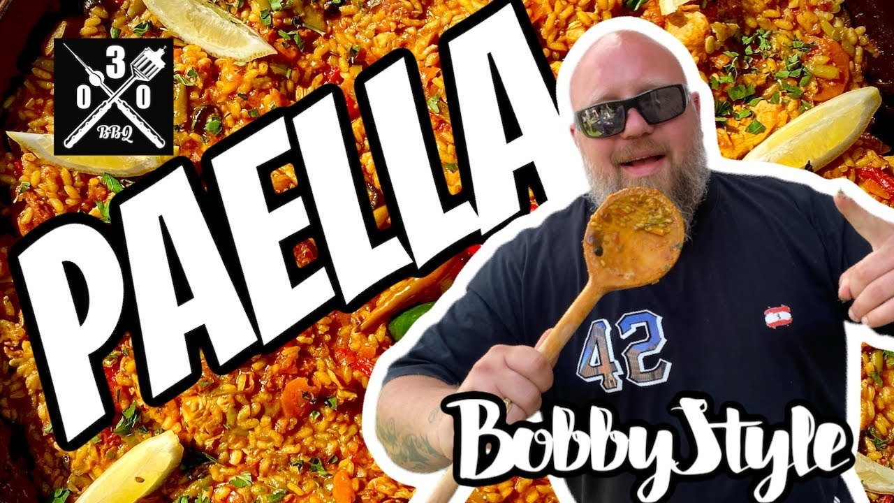 PAELLA mit Bacon ? - Bobby Style - 030 BBQ