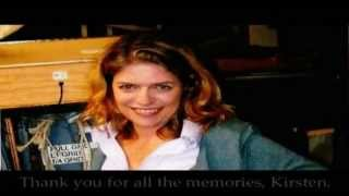 Tribute to voice actress Kirsten Bishop from Sailor Moon and more.