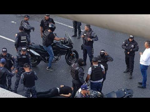 Así se vivió en Caracas el enfrentamiento entre el FAES y delincuentes