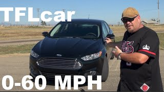2015 Ford Fusion 1.5L EcoBoost 0-60 MPH Review: Tiny but Mighty?