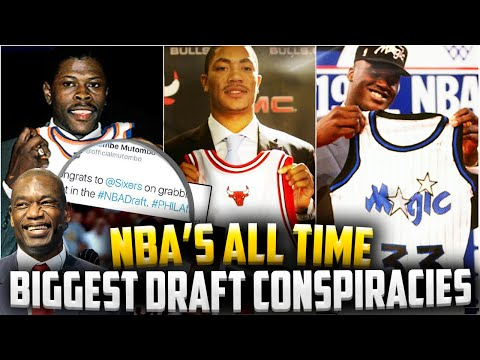 THE BIGGEST NBA Draft Conspiracies OF ALL TIME!! - Patrick Ewing! Derrick Rose! LeBron James??