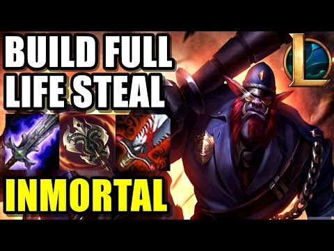 TRUNDLE TOP vs NUNU FULL AP | ME REVIENTA EN EARLY XD!! FULL LIFE STEAL BUILD | eldelabarrapan | lol
