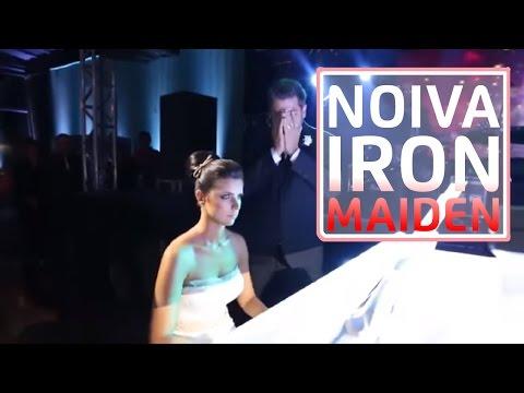 Noiva toca Iron Maiden para noivo metaleiro  Fear Of The Dark