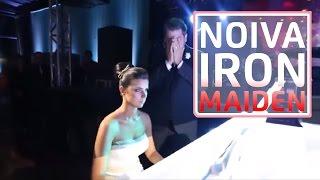 Noiva toca Iron Maiden para noivo metaleiro | Fear Of The Dark