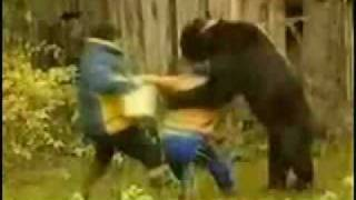 Woman Escapes Bear Attack