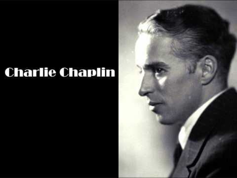Charlie Chaplin explains his concept of pictures in 35 seconds - 1952