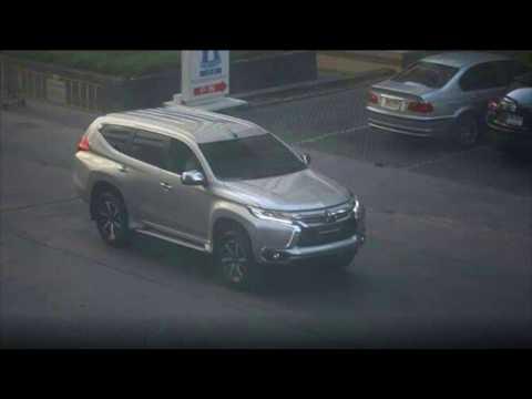 All new Mitsubishi Pajero Sport 2016 - Spyshot in Thailand