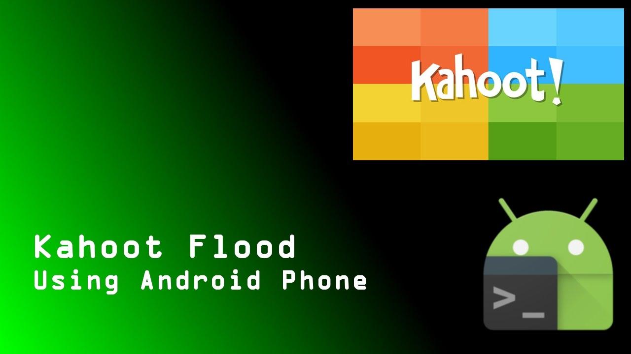 Kahoot flood on Android phone