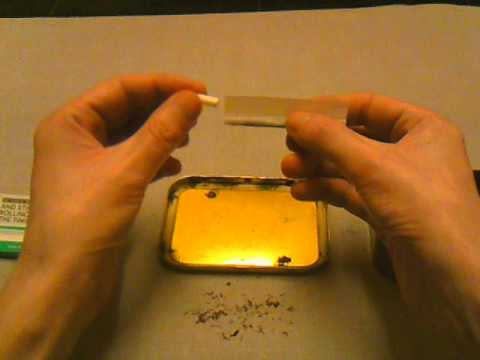 GOLDEN VIRGINIA TOBACCO ROLLING TUTORIAL.MAKE  A ROLL UP WITH FILTER TIP THE EASY WAY