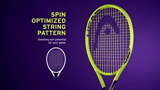 HEAD Extreme Racquet with Graphene 360 Technology