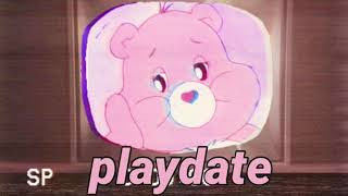 playdate by melanie martinez plays on tv in the other room while you're with your crush