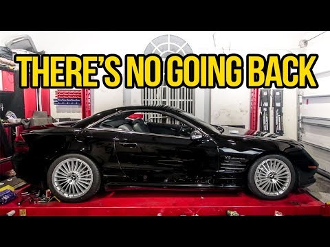 I Threw Away My Cheap SL55 AMG's $10,000 Suspension And I Couldn't Be Happier - Project SL55 Pt 4