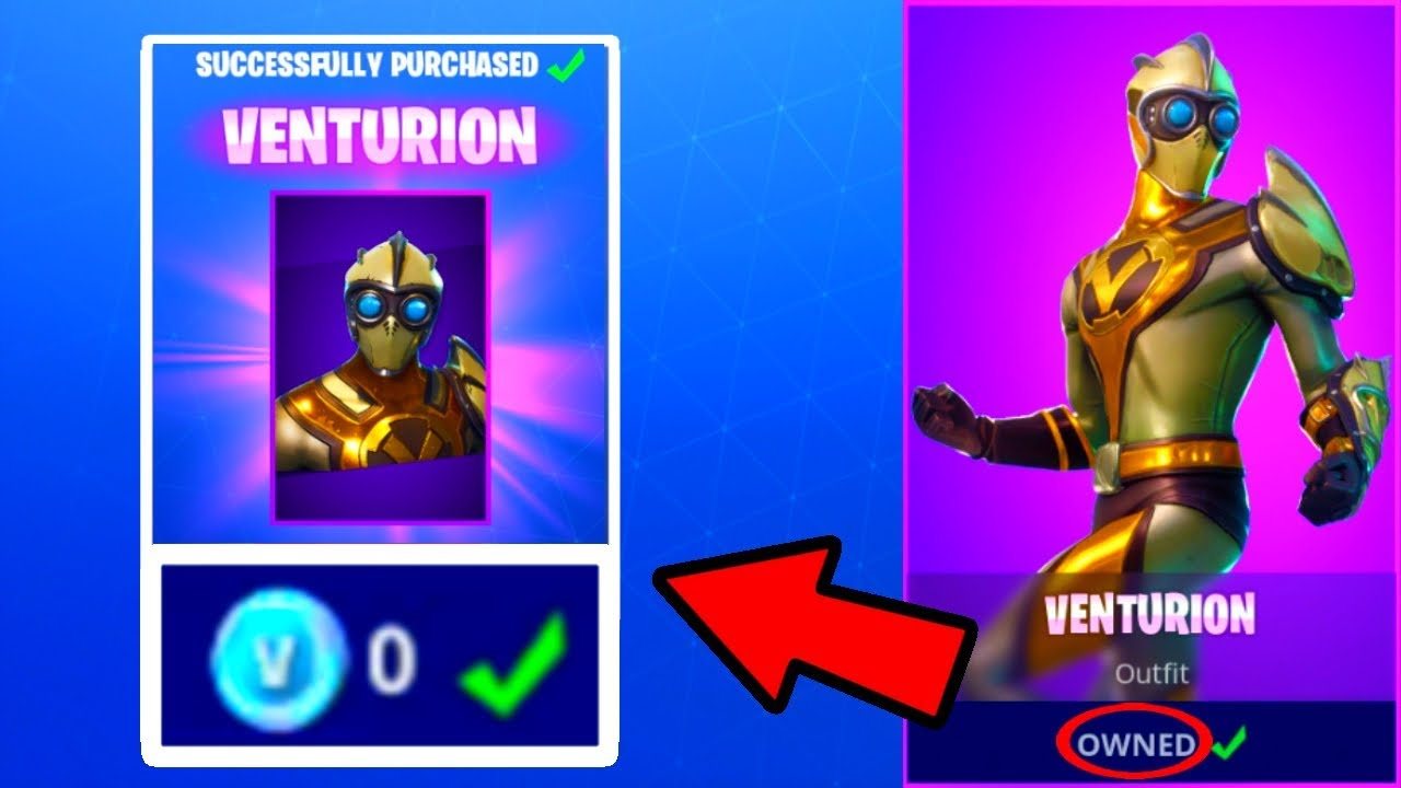 how to get free skins in fortnite battle royale ps4 xbox one pc venturion skin new - how to get fortnite on xbox 1 for free