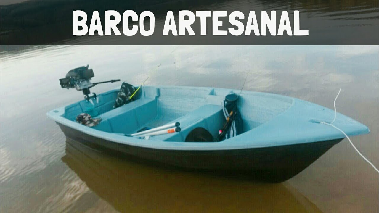 Construcao Barco Artesanal De Fibra Slide Youtube