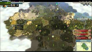 Civilization 5 Speedrun - 3:41.25 Turn 21