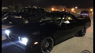 "Chicago Nights : LS1 Powered El Camino On 22"" Vellano Wheels"