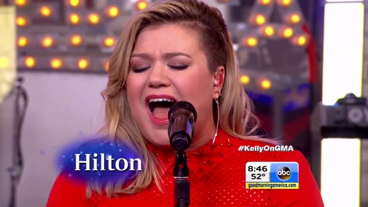 Download Kelly Clarkson   Heartbeat Song Live on Good Morning America 2015 HD