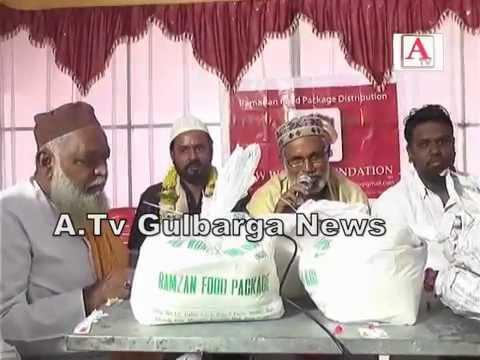 New World Foundation Gulbarga Eid Packages Distribution
