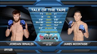 Video Fight of the Week: James Moontasri vs. Jordan Rinaldi RFA15 download MP3, 3GP, MP4, WEBM, AVI, FLV Mei 2018