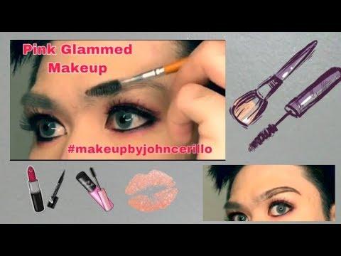 PINK GLAMMED MAKEUP | TUTORIAL #02 inspired by Bretmanrock #Makeupbyjohncerillo thumbnail