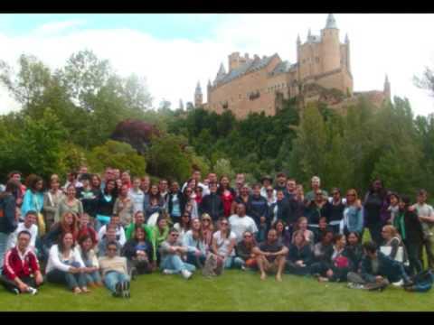 Marshall University Students in Madrid, España