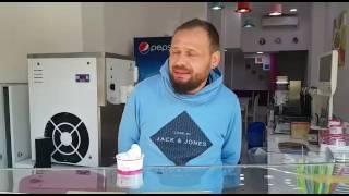 Iceberry frozen yoğurt mağazası,gelmatic excel 100 modeli