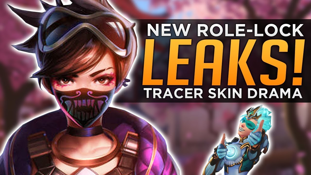 Tracer Christmas Skin.Overwatch New Role Lock Leaks Tracer Skin Drama