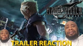 KRay06 Reacts and Immerses!!!! - Final Fantasy 7 Remake Official Opening Movie [REACTION!!!]