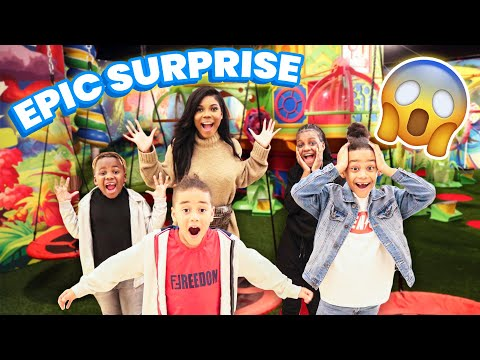 SURPRISING THE KIDS WITH AN EPIC DAY OF FUN!!!