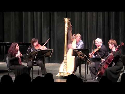 Casadesus Quintet for flute, violin, viola, cello and harp