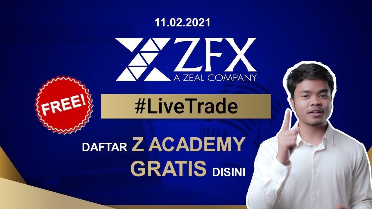 Live Trading ZFX Indonesia - 11 Februari 2021 | Belajar ...
