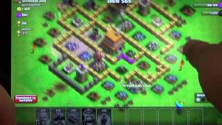 Clash of Clans :Village HDV 7 comment avoir le roi des barbares