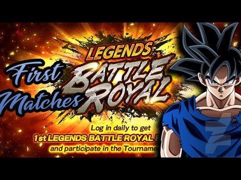 Legends Battle Royal - Dragon Ball Legends PVP - Las vegas