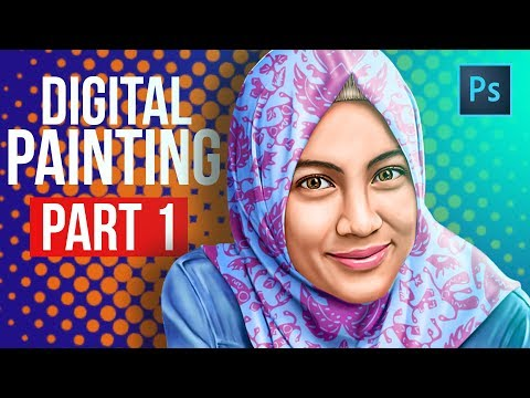 [ Photoshop Tutorial ] Digital Painting PART 1 (PREPARATION)