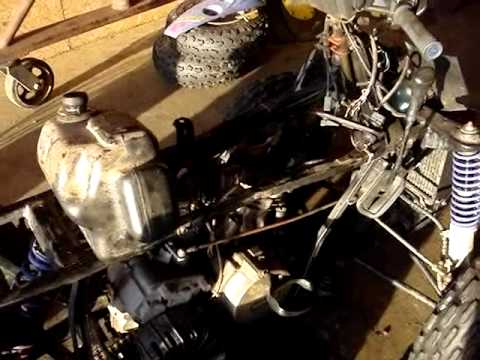 Polaris Sportsman 800 >> Working on a Polaris 400L Sport ATV - YouTube