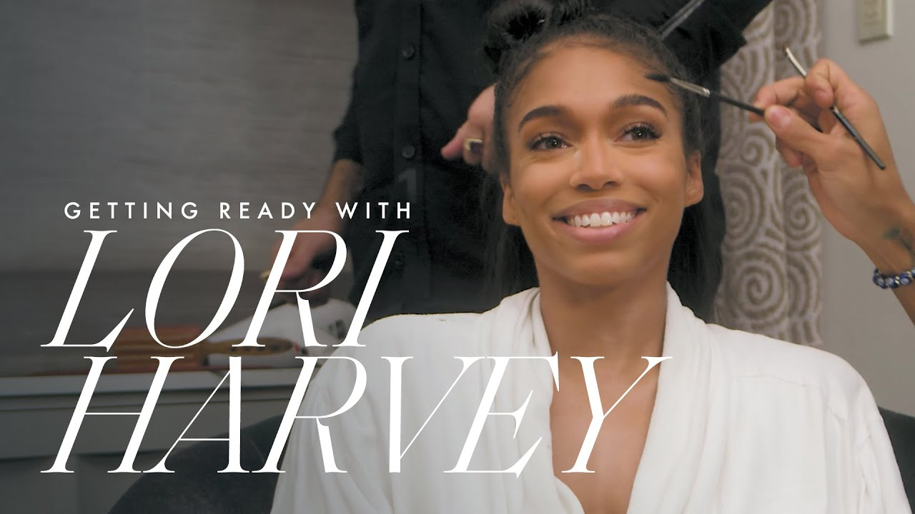 This is How Lori Harvey Gets Ready For the Coach Spring '22 Show   Getting Ready With