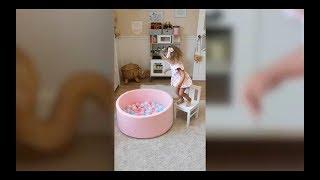 Romana Airpool Детский сухой бассейн (розовый)