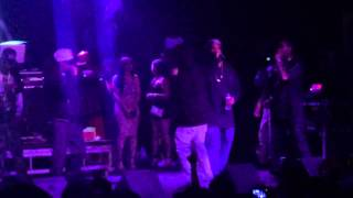 Bone thugs N harmony- land of the heartless live in Sacrame