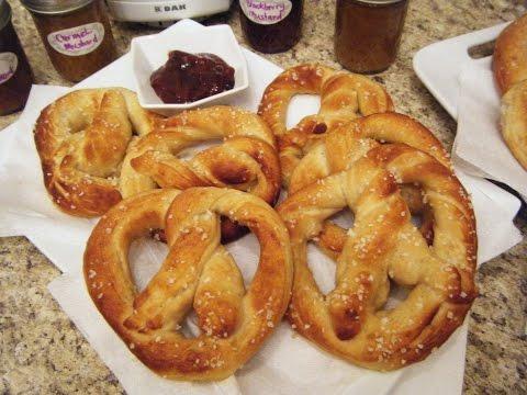 Pretzels In The DAK Bread Machine