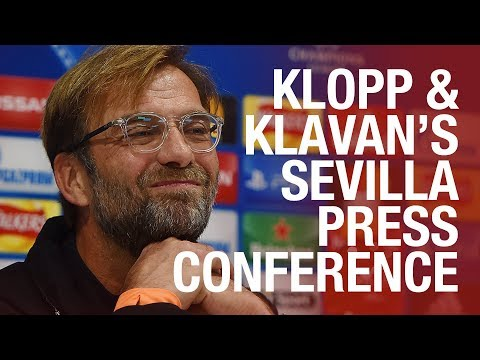 Klopp and Klavan's pre-Sevilla press conference in full