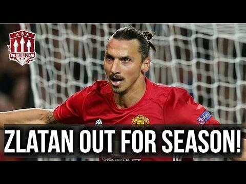 Zlatan Knee Injury Update & Man Utd Vs Celta Vigo In The Europa League