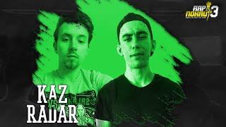 Kaz vs. Radar - RAPNOKAUT 3✍️🥊Pierwsza liga battle rap w Polsce!